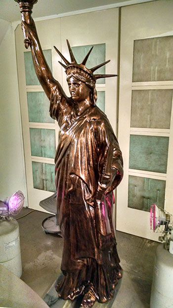 Restore Statue of Liberty - After