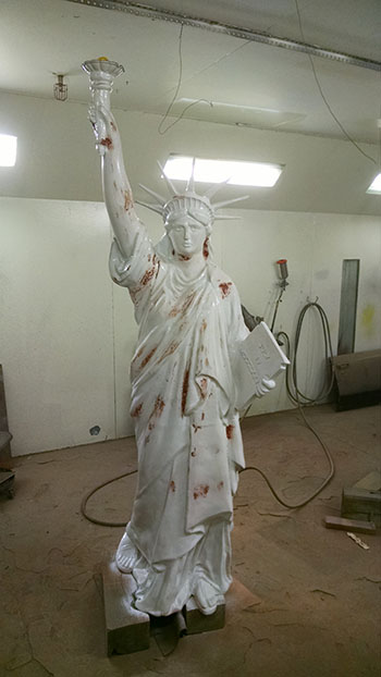Restore Statue of Liberty - Process 2