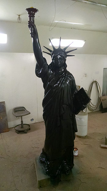 Restore Statue of Liberty - Process 3